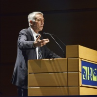FFV 2015 - François Marthaler, Président du Festival du Film Vert et  ancien conseiller d'Etat